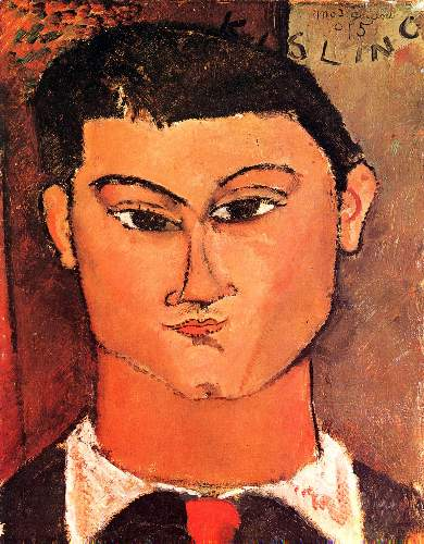 Modigliani - Portrait of Moise Kisling [4]